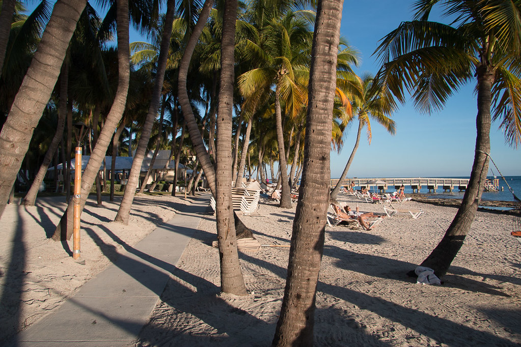 Public Beach in Key West