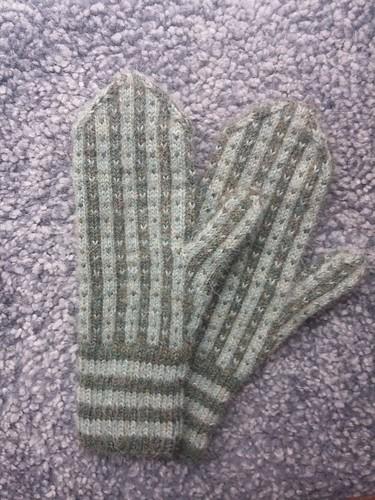 Fisherman's mittens