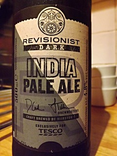 Marston's (Tesco), Revisionist Dark India Pale Ale, England