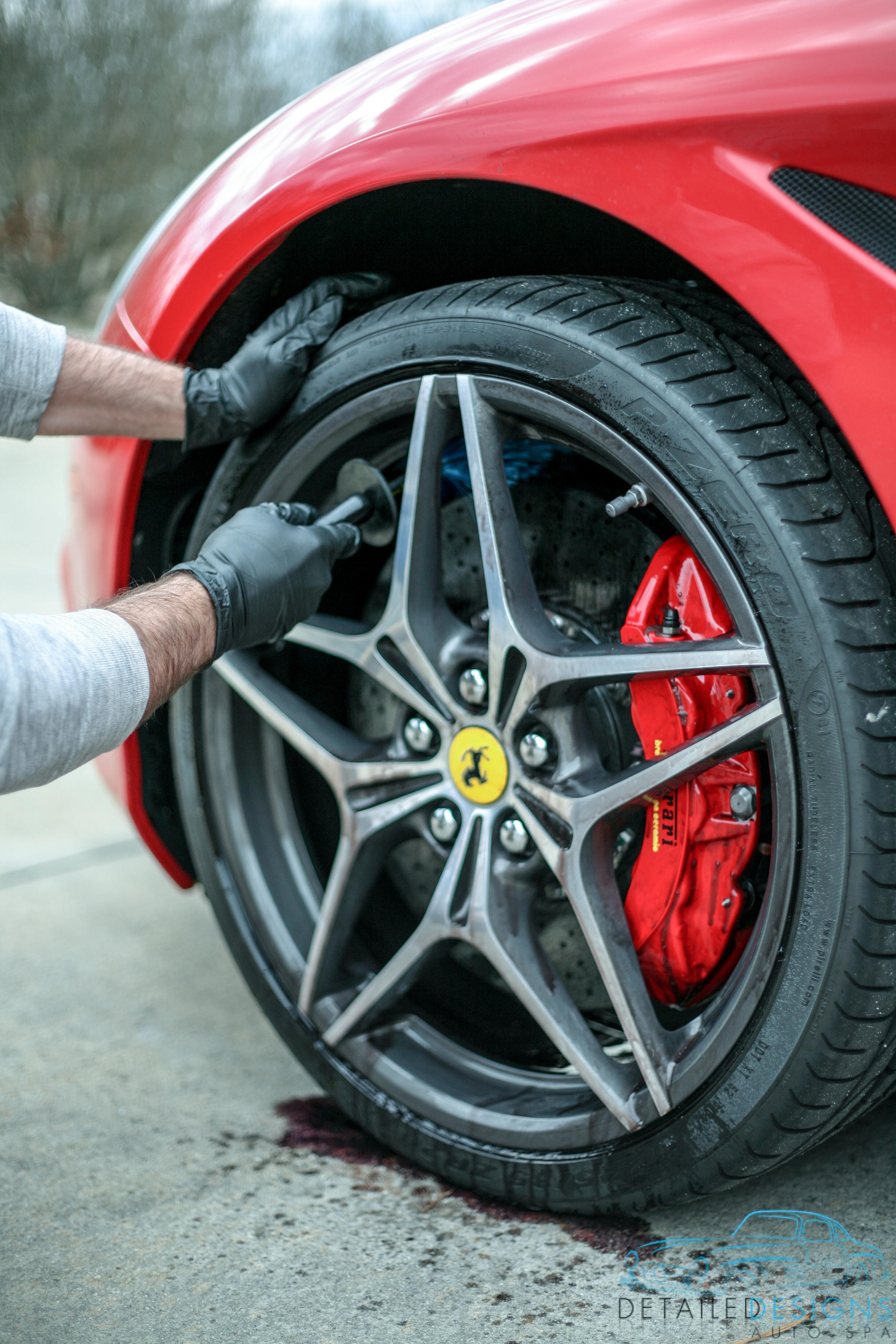 Ferrari Professional Car Detailing Atlanta