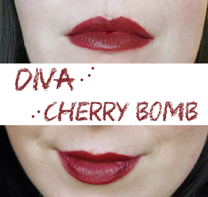 mac diva dupe review: wet n wild cherry bomb