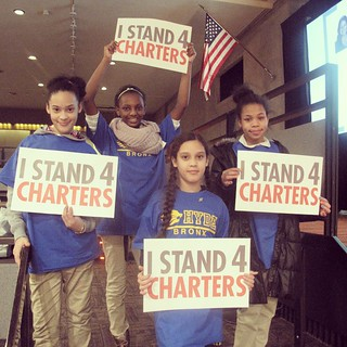 """""""Never doubt that a small group of thoughtful, committed citizens can change the world; indeed, it's the only thing that ever has."""" #IStand4Charters #hydebronx"""