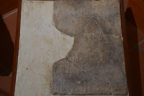 Inscription dedicated to Hadrian, Sulcis, Sardinia