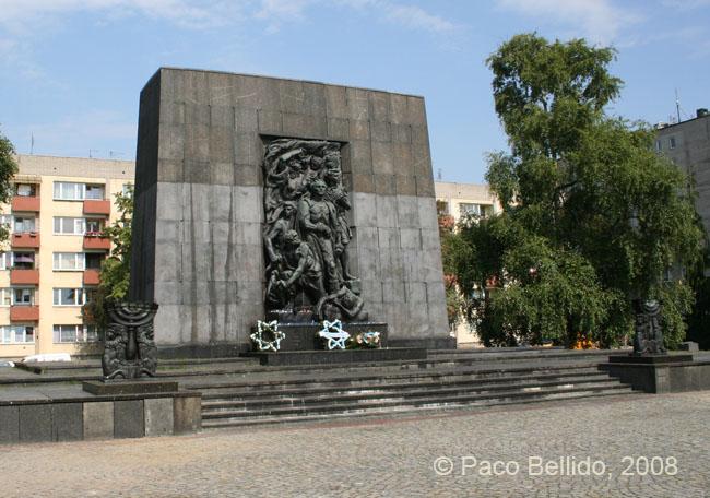 Monumento a los Héroes del Ghetto. © Paco Bellido, 2008