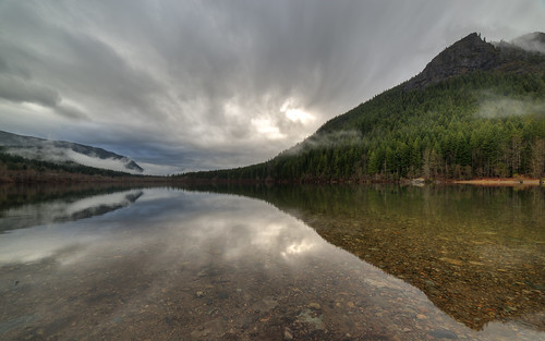 trees reflection nature water clouds landscape washington cloudy wideangle clear pacificnorthwest rattlesnakeledge pwlandscape canoneos5dmarkiii samyang14mmf28ifedmcaspherical