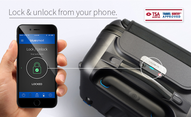 Bluesmart-Lock