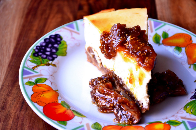Recipe for Fig and Orange Cheesecake