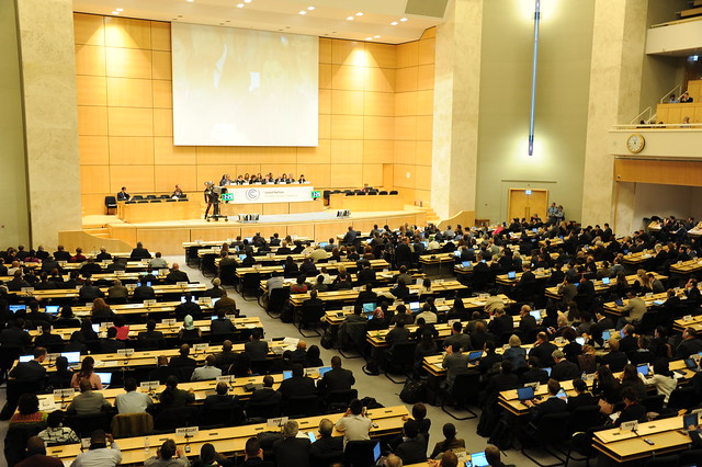 Opening Plenary held in Assembly Hall