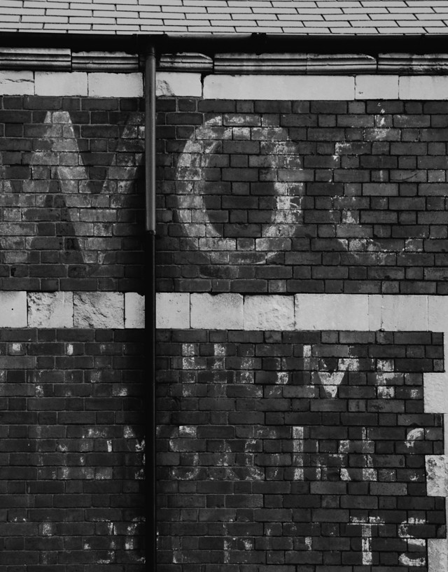 ghost sign, cardiff