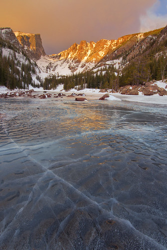 mountains ice sunrise colorado rockymountainnationalpark frozenlake dreamlake canon6d canonef14mmf28lii