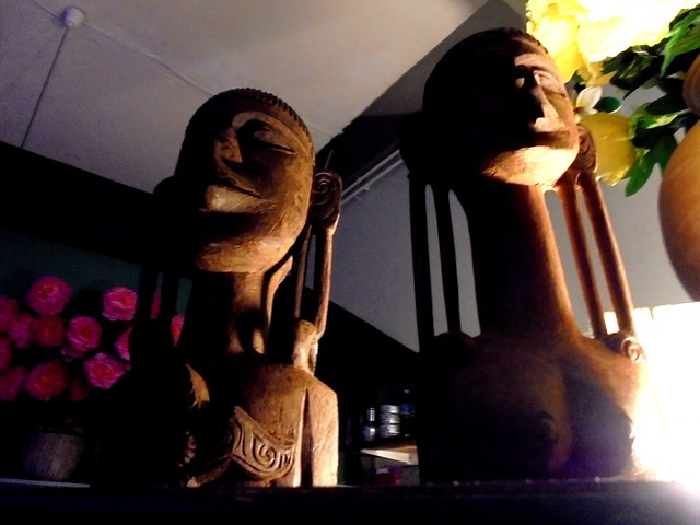 Payung wooden carvings