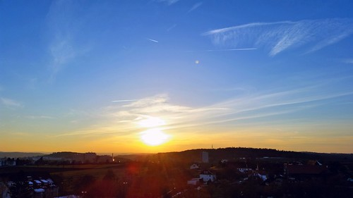 sky sun clouds tramonto sonnenuntergang himmel justintime damncool sprachsteuerung voicecontrolledbythephotographer
