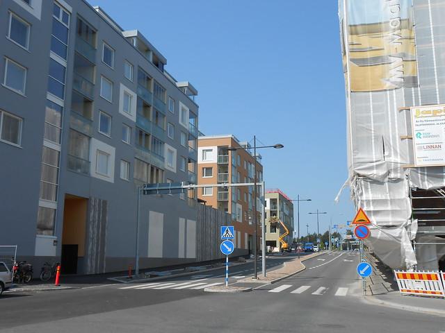 Hämeenlinnan moottoritiekate ja Goodman-kauppakeskus: Työmaatilanne 4.8.2014 - kuva 2