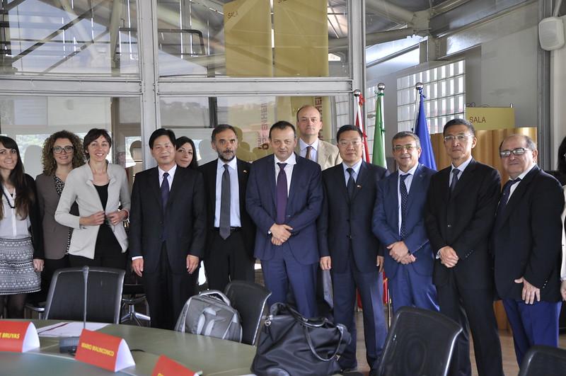 6 Maggio - Visita della delegazione cinese del MOST-Ministero per la Scienza e la Tecnologia e del Beijing Municipal Science and Technology Commission BMSTC a Città della Scienza