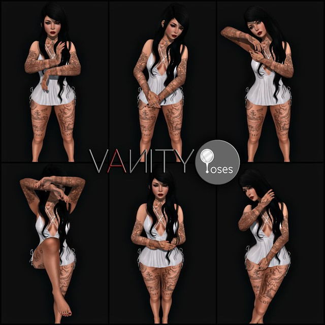 Vanity Poses - Edges [mirrors incl]