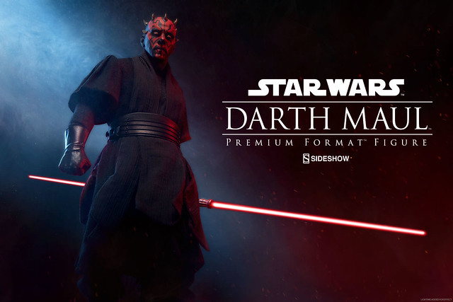 Sideshow Collectibles【達斯.魔】Darth Maul 1/4 比例 全身雕像