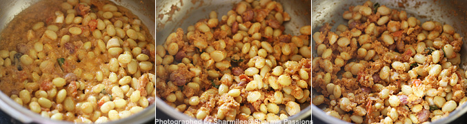 how to cook lima beans in masala