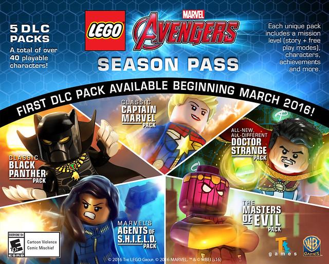 DLC LEGO Marvel Avengers