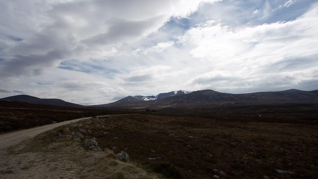 Lochnagar from Glen Gelder