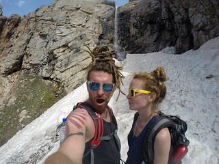 Hiking in Chimgan