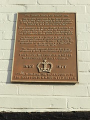 Photo of Brown plaque number 41476