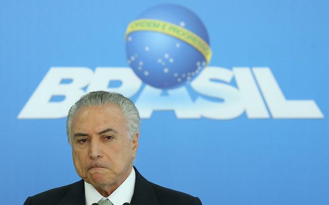 Michel Temer dijo en un comunicado que, a lo largo de su vida pública, siempre respetó estrictamente los límites legales - Créditos: Lula Marques/Agência PT