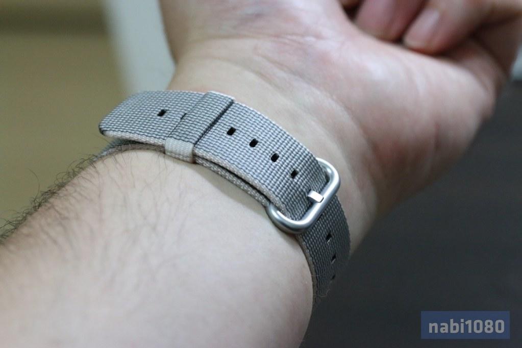 Apple Watch ウーブンナイロンバンド12