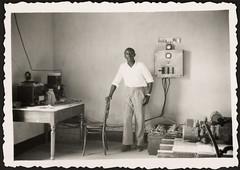 Aspecto interior das instalações da Estação de Correios da Ilha da Boavista - Cabo Verde