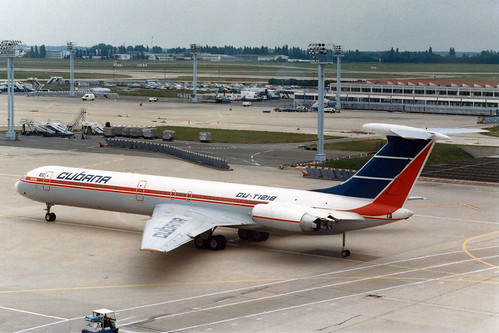 Cubana Ilyushin Il-62M CU-T1218