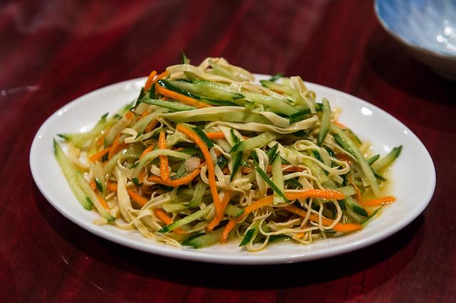 中国家庭料理 楊「拌三絲(バンサンスー)」