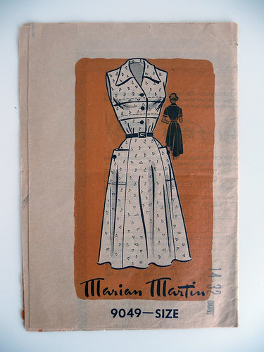 Sewing Pattern Marian Martin 1940s (9049)