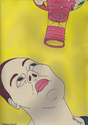 Crimson Brush-Karen Hurd-2 by Hank V