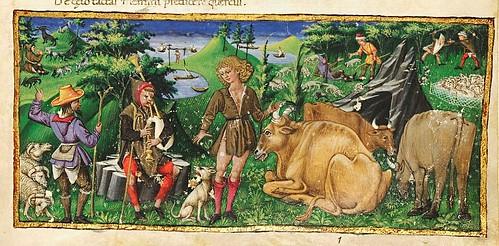 001-Bucolicon-Georgicon-Aeneis-1450-1460- Biblioteca Riccardiana de Florencia