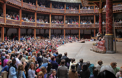 Shakespeare's Globe Theatre London by Kinzler Pegwell
