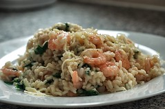Italian Risotto with Prawns