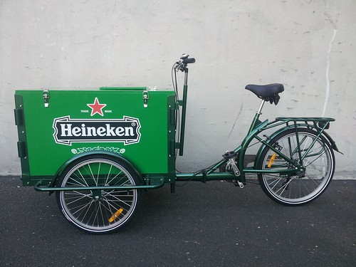 Heineken Beer Advertising Bike