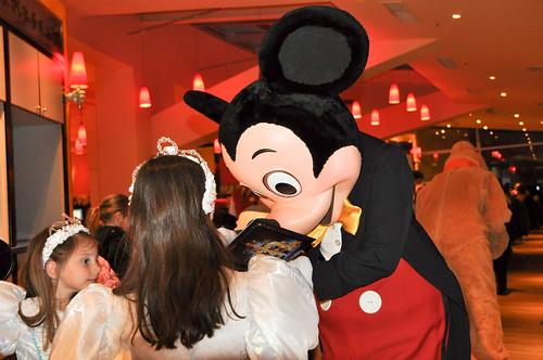Mickey en acción