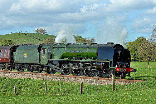 Duchess of Sutherland by Andy Pritchard - Barrowford