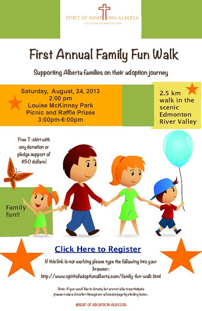 Family Fun Walk Poster