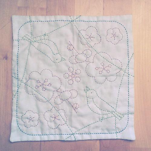 #sashiko #embroidery