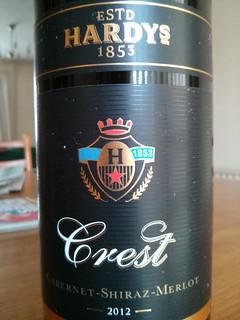 Hardys Crest Cabernet Shiraz Merlot