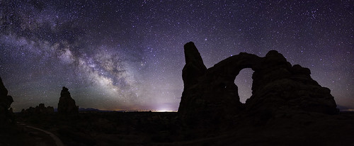 Turret Arch Nightly View
