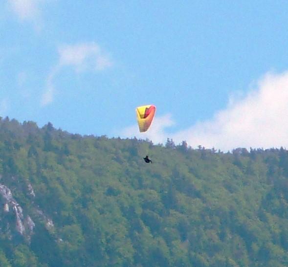 Paraglider Langendorf