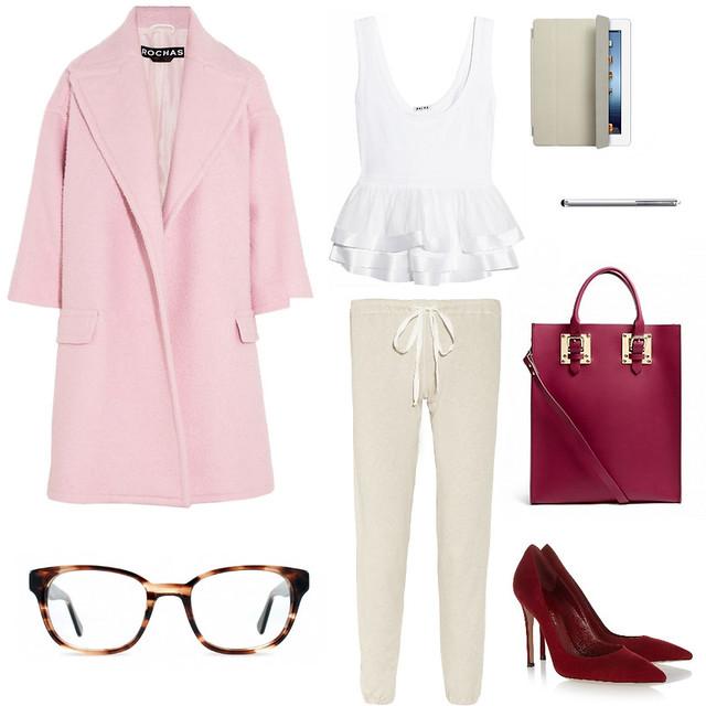 pink coat trish