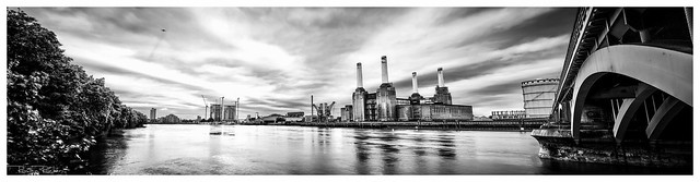 Battersea Power Station at 5am. Vote here http://bit.ly/PvQkfB