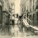 Paris- inondation de janvier 1910 – Rue de l'hôtel Colbert – Un escalier original by vlefort2003