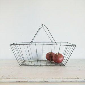 Fog Linen wire basket