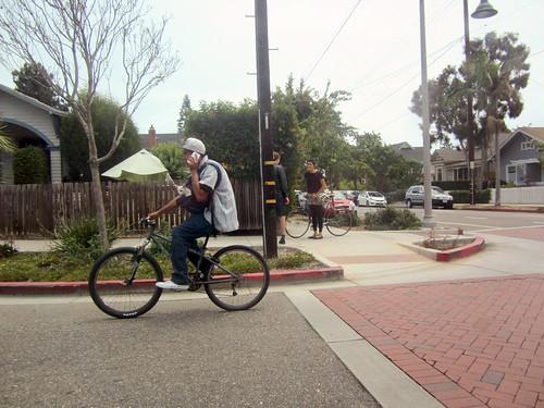 Santa Barbara cyclist