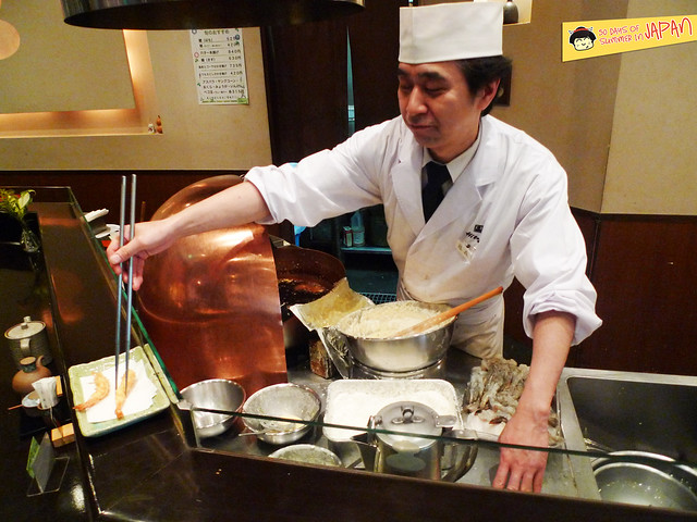 Tempura Hisago - tempura chef