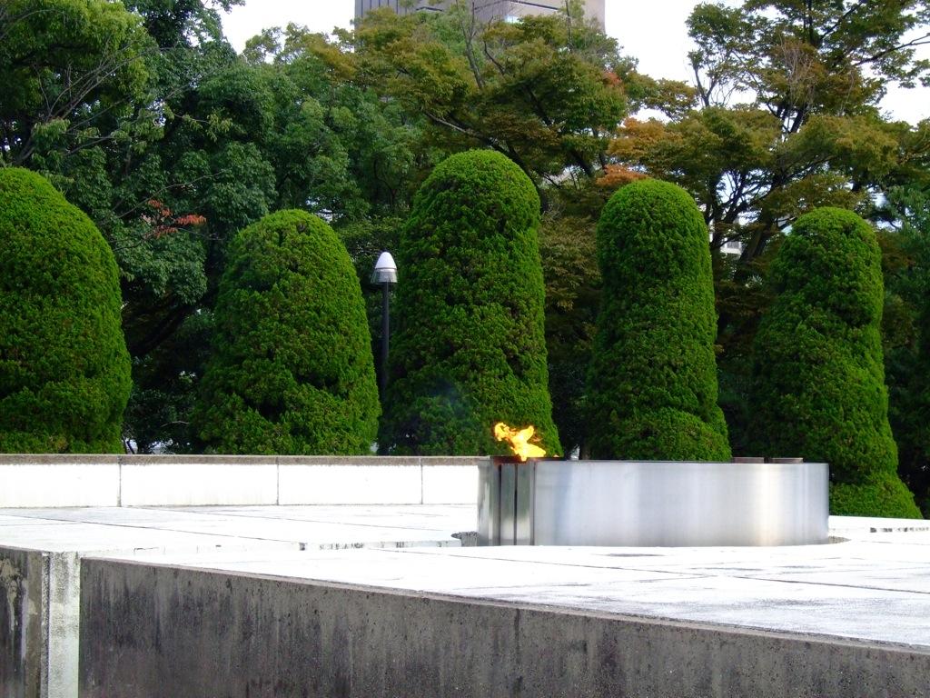 Eternal Flame in Hiroshima
